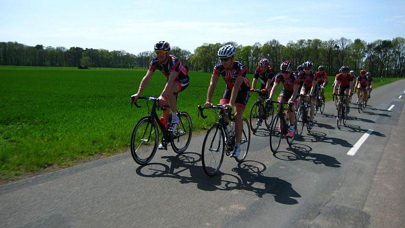 Die Saison für unsere Radsportler beginnt ….